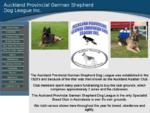 Welcome to germanshepherddog. co. nz