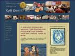 Frimerker og brev, mynter og gamle postkort på auksjon i Oslo.