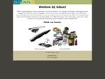 Welkom bij Giban! Uw verdeler voor auto-onderdelen en auto-accessoires (THULE, Westfalia en Uebler)
