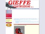 GieffeCostruzioni - Progettazione e Costruzione Macchine Bitumi Speciali