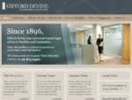 Gifford Devine - Barristers and Solicitors, Lawyers, Havelock North, Hastings, Hawkes Bay