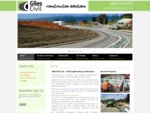 Home - GilesCivil Ltd - Civil Engineering Contractors Welcome to Giles Civil!