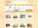 Gindera — baldai vaikams, vaikiski baldai, vaikiškos lovos, vystymo stalas, čiužiniai, vaikiška