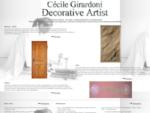Decorative Artist Cécile Girardoni Art - Marmor Holz und Patina Illusionsmalerei