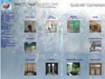 Glas-Art Kunst und Design