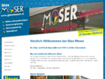 Glas Moser | Glas Moser - Bilderrahmenboutique, Kunstverglasung, Bauverglasung, Spenglerei