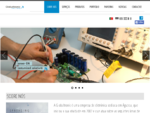 Globaltronic, SA - página de abertura
