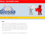Glossa Technical Translations