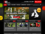 Go Ballistic Paintball UK - Europes largest Paintball site network