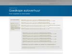 www. goedkoop-autohuur. nl goedkope autoverhuur via Cheaptickets. nl | Goedkope autoverhuur | Goed