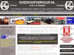 Goedkoop verhuur Alkmaar| Auto , bus en aanhangers huren, al vanaf €20 in Alkmaar en Zaandam