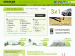 Aluguer de carros baratos GOLDCAR aeroporto Alicante Maiorca Maacute;laga Barcelona Ibiza Tenerife