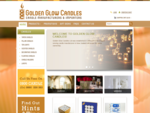 Golden Glow Candles Ltd - Candles, Paraffin Lamps, Votives, Pillar Candles - all your candle need