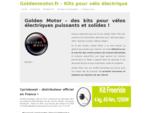 Golden Motor propose une large gamme de kits pour vélo électrique. Trouvez tout le catalogue ici...