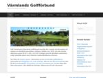 Golf i Värmland - Värmlands Golfdistriktsförbund