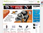 Golfshopen. no - Totalleverandør av golfutstyr på nett!