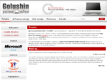 Poslovna softverska i web rešenja, poslovni software, web dizajn i programiranje GOLUSHIN poslovn