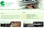 GOMAD – Maszyny do obróbki drewna, Frezarki, Wiertarki, Automaty wiertarskie, Głowice wiertarski