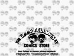 Good Fellows Comics Store - sarjakuva, patsas ja kirjamaailma