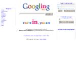 gOOgling.fr, pour se googler et googler les autres. Googling is made to ego surf and google arou...