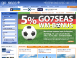 Kreuzfahrten, Flüge & Hotels buchen bei www.go7seas-kreuzfahrten.de