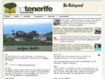 De Tenerife specialist vluchten, autohuur, unieke hotels, rust en wandelen.