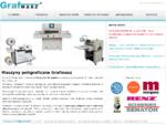 Maszyny poligraficzne | GrafMasz | maszyny poligraficzne i introligatorskie