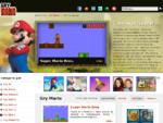 Gry Mario, Mario Gry, Gra Mario