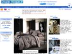 Grandes Marques de linge de maison linge de lit, linge de toilette, linge de table, draps de pla