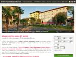 Grand Hotel Nizza et Suisse - Montecatini Hotel 4 stelle Montecatini Terme
