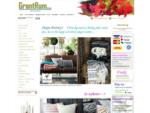 GrantRum. se - webbshop med inredning, glas, porslin, design och hantverk. Hög kvalitet till hem