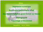 Graphirel Imprimerie numérique 75013 Paris