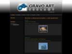 Gravoart. cz – světelná reklama, gravírování, reklamní cedule, signmaking