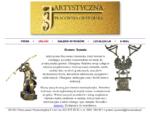 Artystyczna Pracownia Grawerska J. Suwała - grawer warszawa, metaloplastyka - statuetki