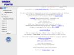 www. Greek-Fonts. com - ΕΛΛΗΝΙΚΕΣ ΓΡΑΜΜΑΤΟΣΕΙΡΕΣ - ελληνικές γραμματοσειρές - ελληνικες ...