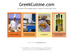 GreekCuisine. com Your Complete Guide to Greek Cooking and Greek Food