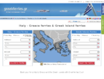 Greek Ferries to Greece - Italy Greece, Greek Ferry Tickets, Ferries Greece - Greek Islands ...