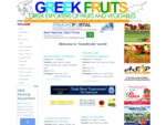 Greek Fruits Exporters Official portal for the Greek fresh fruits and vegetables production