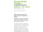 Green Data Center Conference Dallas | | June 5-6, 2013