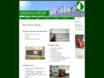 Strona firmy Green Drop oraz Green Drop Plus, liderów w zakresie budownictwa szklarniowego i techni