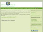 GreenHealth-Mouvement de Santé Globale, phytotherapie, aromatherapie.