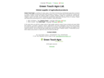 Green Touch Agro Ltd. - Global supplier of agricultural products
