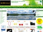 KORULA. fi - GreenWhale Verkkokauppa - Korut, laukut, hiuskukat, huivit, hiuskorut ja paljon muu