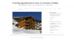 Prachtig appartement in Grimentz