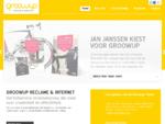 Reclamebureau Gróówup in Breda | Full service op internet en in reclame.