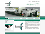 Grossmann Maschinenbau Rundmesser Kreismesser Friktionswickler Wickeltechnik Sondermaschinen ...