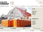 Grupo Vendap Aluguer de Geradores, Contentores, Plataformas elevatórias, modulos, Gruas, Andaimes, ...