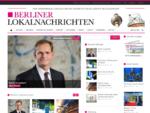BERLINER LOKALNACHRICHTEN - Lokale Nachrichten aus Berlin | Aktuell