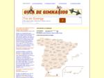 Gimnasios - Guía de gimnasios de España.
