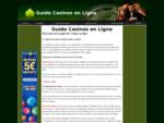 Guide des casinos en ligne